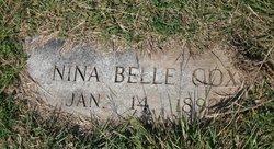 Nina Belle Cox