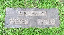 Dr Bernard A Cruvant