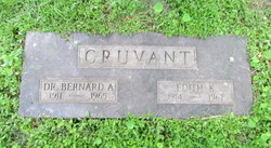 Edith <i>Kenny</i> Cruvant
