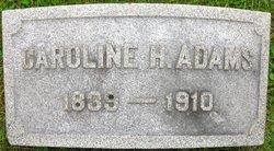 Caroline Howland <i>Chase</i> Adams