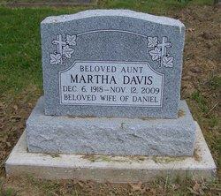 Martha <i>McElroy</i> Davis