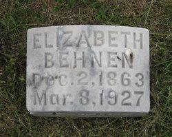 Elizabeth <i>Scharf</i> Behnen