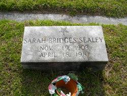 Sarah <i>Bridges</i> Sealey