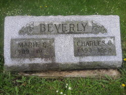 Marie C <i>Hoffman</i> Beverly
