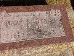 Maria Berthea Mary <i>Knutson</i> Olson