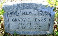 Grady E Adams