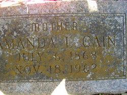 Amanda Louise <i>Scruggs</i> Cain