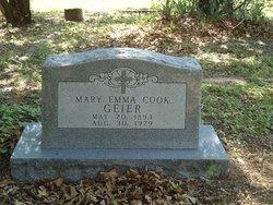 Mary Emma Big Mama <i>Cook</i> Geier