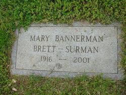 Mary <i>Bannerman</i> Brett-Surman