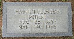 Wayne Fullwood Minish, Sr
