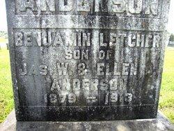 Benjamin Letcher Anderson