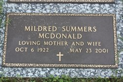 Mildred <i>Summers</i> McDonald