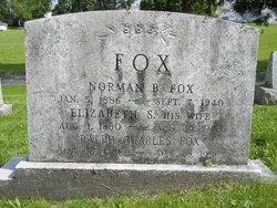 Elizabeth S <i>Overholtzer</i> Fox