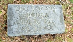 Emma <i>Carpenter</i> Aderholdt
