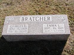 Emma L <i>Alvey</i> Bratcher