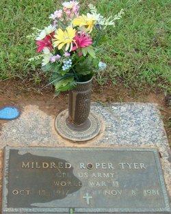 Mildred <i>Roper</i> Tyer