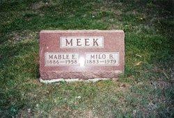 Mable E <i>Andress</i> Meek
