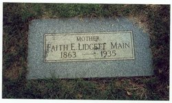 Faith E <i>Conklin</i> Lidgett-Main