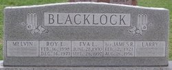 Eva L. <i>Bowman</i> Blacklock