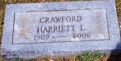 Harriett L Crawford