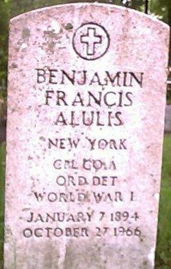 Benjamin Francis Alulis
