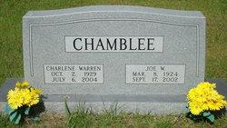 Charlene Rose <i>Warren</i> Chamblee