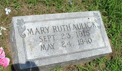 Mary Ruth Aulick