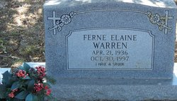 Ferne Elaine Warren