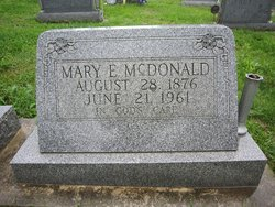 Mary Elizabeth Mollie <i>Ensley</i> McDonald