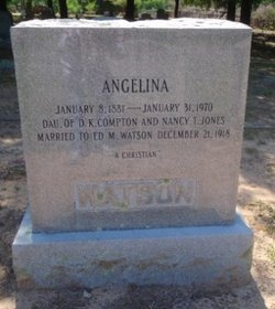Angelina Angie <i>Compton</i> Watson