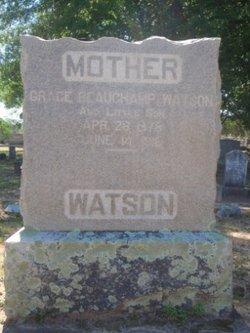 Grace Johnston <i>Beauchamp</i> Watson
