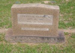 Edward Monroe Watson, Jr