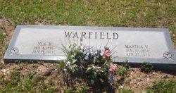 Martha Victoria Mattie Vic <i>Watson</i> Warfield