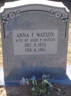 Anna Florence <i>Wells</i> Watson