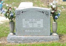Rita Jo <i>Fabry</i> Lemons