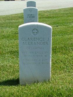 Clarence J Alexander