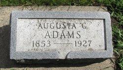 Augusta G Adams