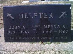 John A Helfter