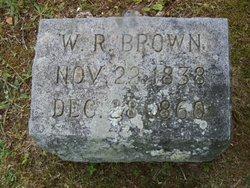 William R Billie Brown