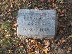 Frances E Scherr
