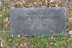 Annie <i>Williams</i> Saffarrans