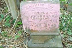 Annie Williams Saffarrans