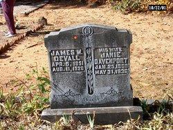 Margaret Janie <i>Davenport</i> Devall