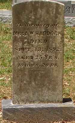 Martha Eugenia <i>Tison</i> Haddock