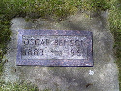 Oscar Benson