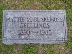 Mattie Mae <i>Blakemore</i> Spellings