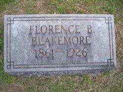 Florence B <i>Pearce</i> Blakemore