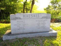 Angeline Isabella <i>Lovett</i> Halsall