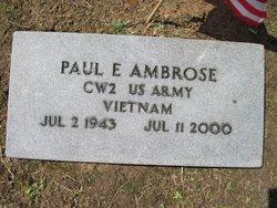 Paul E Ambrose