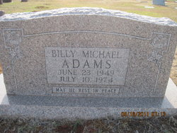 Billy Michael Adams